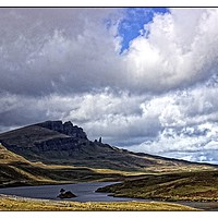 Buy canvas prints of The Storr,Isle of Skye by jane dickie