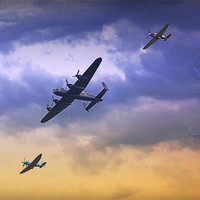 Buy canvas prints of Battle of Britain by Graham Parry