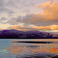 Buy canvas prints of Scottish Loch by Graham Parry
