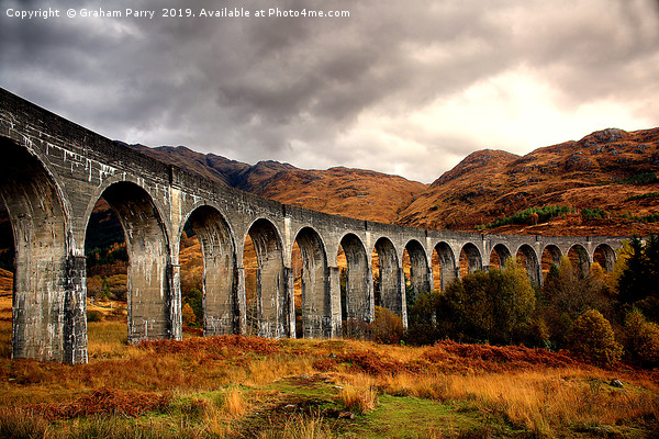 Glenfinnan Viaduct Canvas print by Graham Parry
