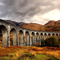 Buy canvas prints of Glenfinnan Viaduct by Graham Parry
