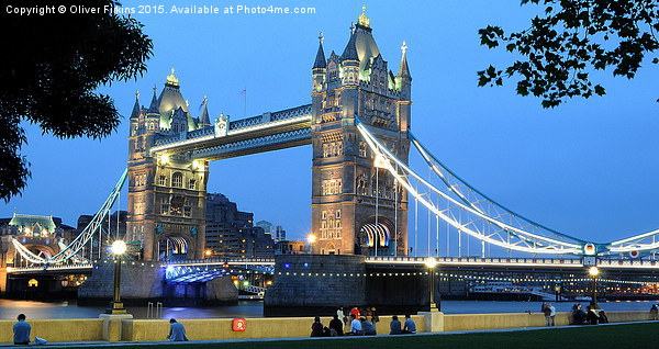 Tower Bridge Canvas print by Oliver Firkins