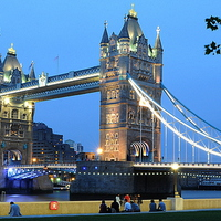 Buy canvas prints of  Tower Bridge by Oliver Firkins
