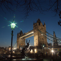 Buy canvas prints of Tower Bridge London by Clive Eariss