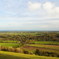 Buy canvas prints of BOX HILL VIEW POINT by Clive Eariss