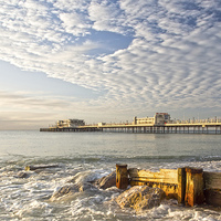 Buy canvas prints of Morning Glory Worthing by Clive Eariss