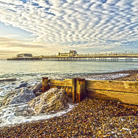 Buy canvas prints of Worthing West Sussex by Clive Eariss
