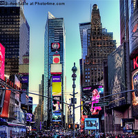 Buy canvas prints of Time Square by Robert Pettitt