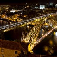 Buy canvas prints of Golden Porto by Robert Pettitt