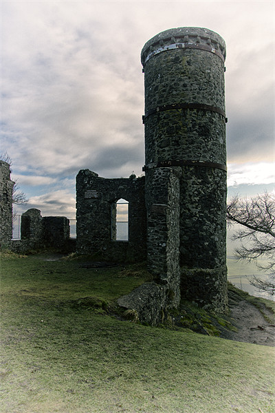 Tower on the Hill Canvas print by Fraser Hetherington