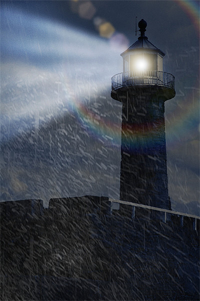 Twas on a Stormy Night Canvas print by Fraser Hetherington