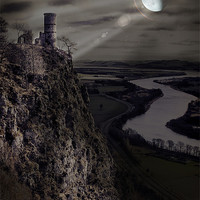 Buy canvas prints of The Bewitching Tower by Fraser Hetherington