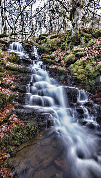 Feldy Waterfall Canvas print by Fraser Hetherington