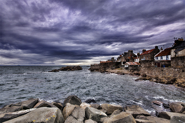 Anstruther Seaview Canvas print by Fraser Hetherington