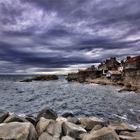 Buy canvas prints of Anstruther Seaview by Fraser Hetherington