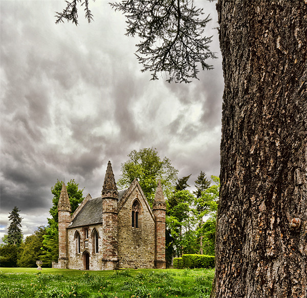 Scone Chapel Canvas print by Fraser Hetherington