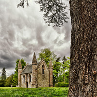 Buy canvas prints of Scone Chapel by Fraser Hetherington