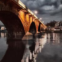 Buy canvas prints of Smeaton Bridge by Fraser Hetherington