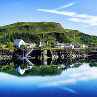 Buy canvas prints of Reflective Easdale by Fraser Hetherington