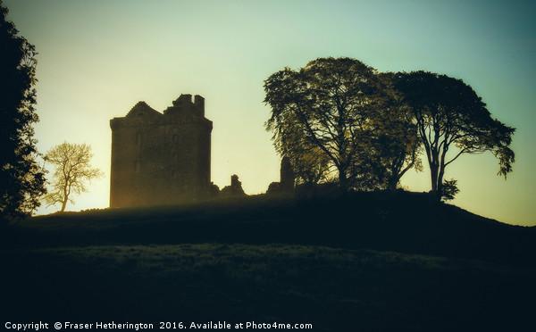 Castle Mist Canvas print by Fraser Hetherington