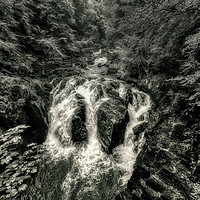 Buy canvas prints of Braan Falls by Fraser Hetherington