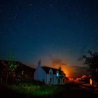 Buy canvas prints of Night at the Croft by Fraser Hetherington