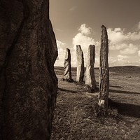 Buy canvas prints of Calanais Standing Stones by Fraser Hetherington
