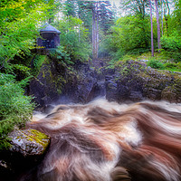Buy canvas prints of Rushing Water by Fraser Hetherington
