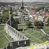 Buy canvas prints of St Andrews Cathedral by Fraser Hetherington