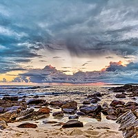 Buy canvas prints of Stormy Clouds by Fraser Hetherington