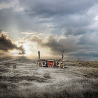 Buy canvas prints of North Uist Do it Upper by Fraser Hetherington