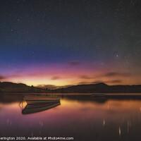 Buy canvas prints of Loch Ordie Aurora by Fraser Hetherington