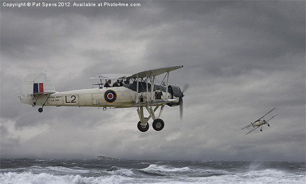 Fairey Swordfish - Hide and Seek Canvas print by Pat Speirs