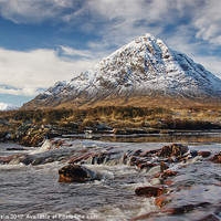 Buy canvas prints of Buchaille Etive Mhor by Pat Speirs
