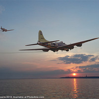 Buy canvas prints of B17 - Westward Ho! by Pat Speirs