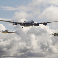 Buy canvas prints of Battle of Britain Memorial Flight by Pat Speirs