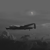 Buy canvas prints of Lancaster - Night Stalker by Pat Speirs