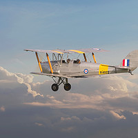 Buy canvas prints of DH Tiger Moth - 'First Steps' by Pat Speirs