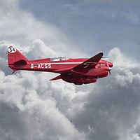 Buy canvas prints of  DH 88  Comet by Pat Speirs