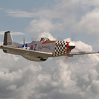 Buy canvas prints of P51 Mustang - WW2 Classic Icon by Pat Speirs