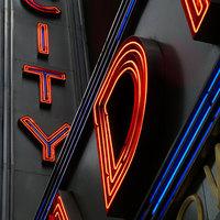 Buy canvas prints of Radio City New York by Lynn hanlon