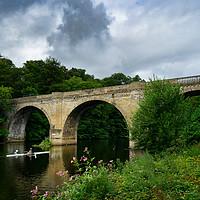 Buy canvas prints of Prebends Bridge Durham by Ann Garrett