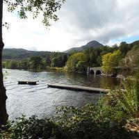 Buy canvas prints of  Loch Lomond by angela morris