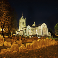 Buy canvas prints of St Peter & St Paul Church Swaffham by Mark Bunning