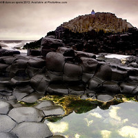 Buy canvas prints of Giants causeway by duncan speirs