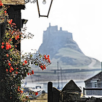 Buy canvas prints of On The Way To Lindisfarne Castle by Paul M  Baxter