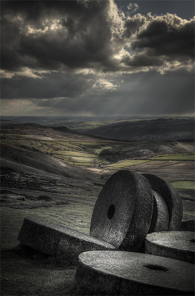 """""""Millstones"""" Canvas print by Natures' Canvas: Wall Art  & Prints by Andy Astbury"""