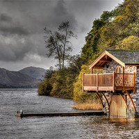 Buy canvas prints of Boat House by David Tyrer