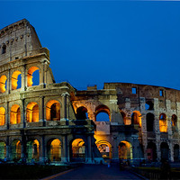 Buy canvas prints of The Colloseum by David Tyrer