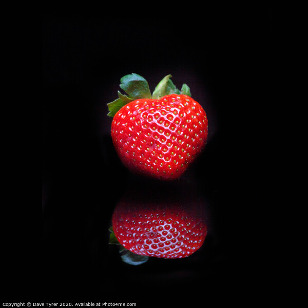 Strawberry Delight Framed Mounted Print by Dave Tyrer